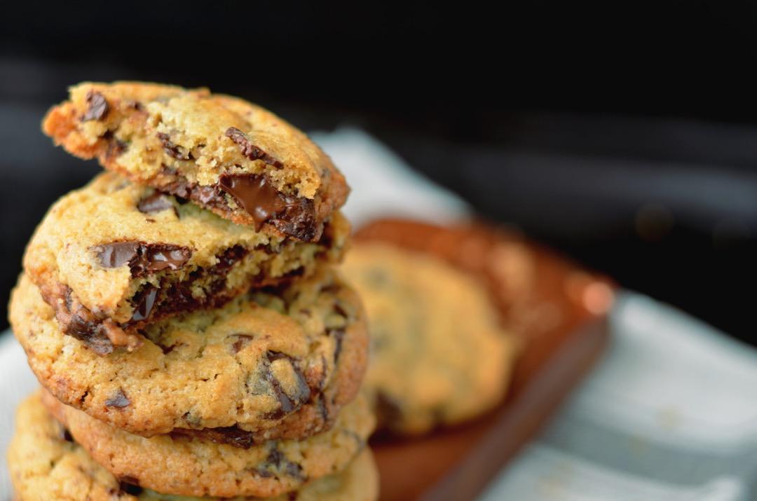 Chocolate chunk cookies destacada