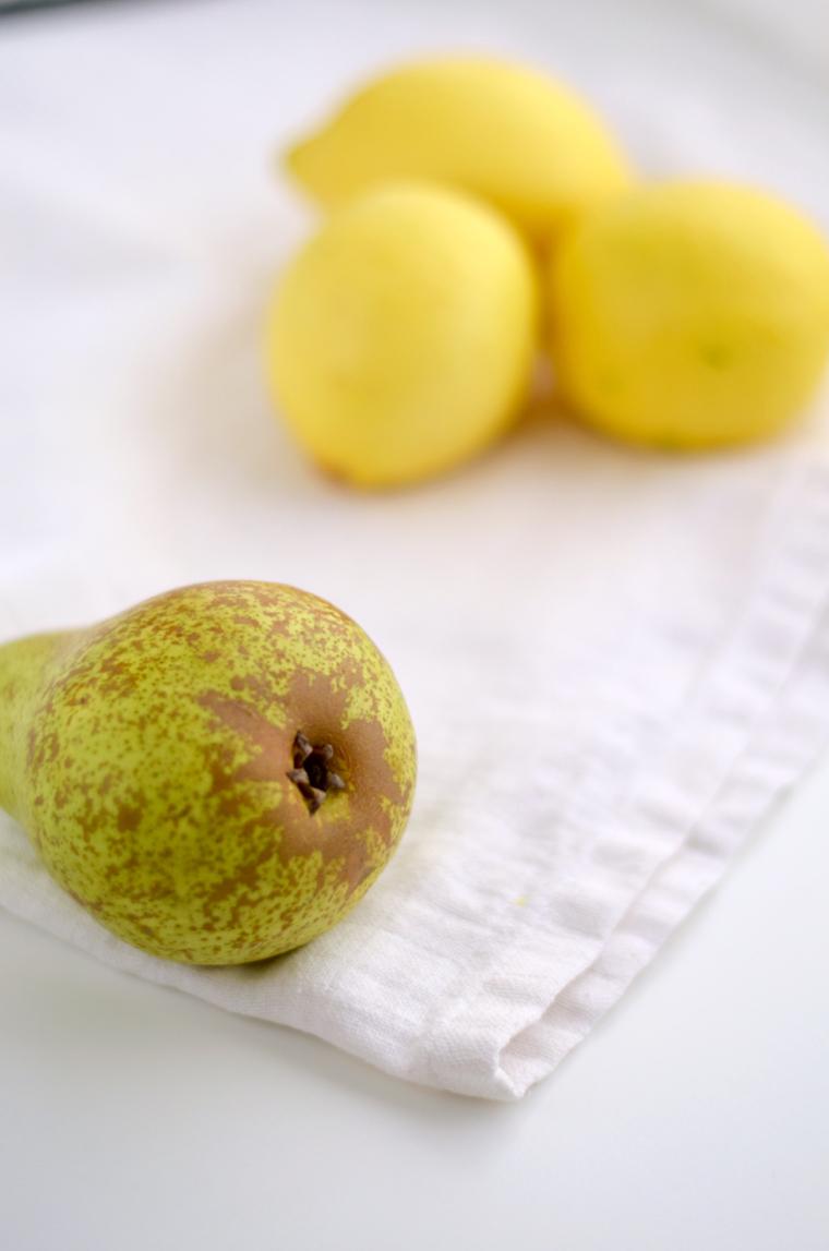 Peras y limones